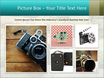 Retro Camera PowerPoint Template - Slide 19