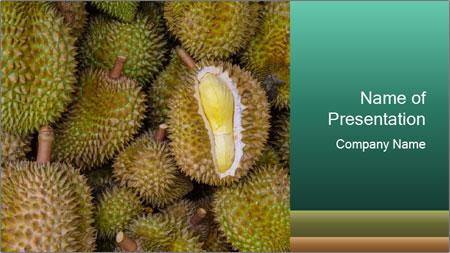Thai Fruits PowerPoint Template
