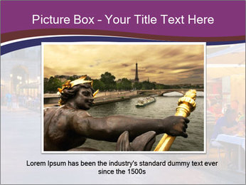 Street Cafe PowerPoint Template - Slide 15