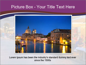 Street Cafe PowerPoint Template - Slide 16