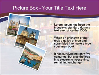 Street Cafe PowerPoint Template - Slide 17