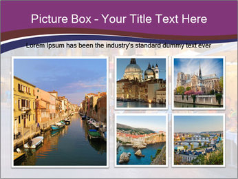 Street Cafe PowerPoint Template - Slide 19