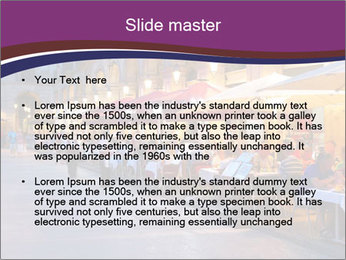 Street Cafe PowerPoint Template - Slide 2