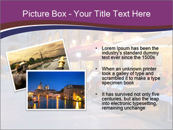 Street Cafe PowerPoint Template - Slide 20