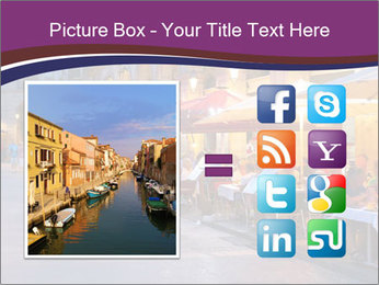 Street Cafe PowerPoint Template - Slide 21