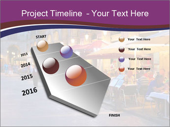 Street Cafe PowerPoint Template - Slide 26