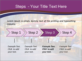 Street Cafe PowerPoint Template - Slide 4
