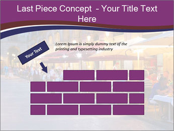 Street Cafe PowerPoint Template - Slide 46