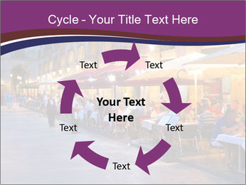 Street Cafe PowerPoint Template - Slide 62