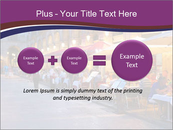 Street Cafe PowerPoint Template - Slide 75