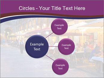 Street Cafe PowerPoint Template - Slide 79