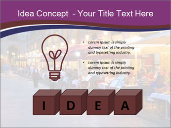 Street Cafe PowerPoint Template - Slide 80