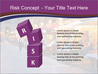 Street Cafe PowerPoint Template - Slide 81