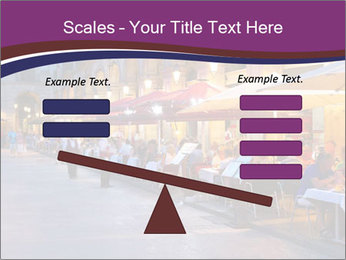 Street Cafe PowerPoint Template - Slide 89