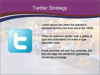 Street Cafe PowerPoint Template - Slide 9