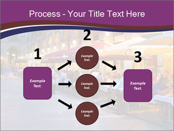 Street Cafe PowerPoint Template - Slide 92