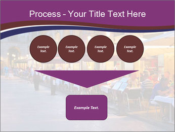 Street Cafe PowerPoint Template - Slide 93