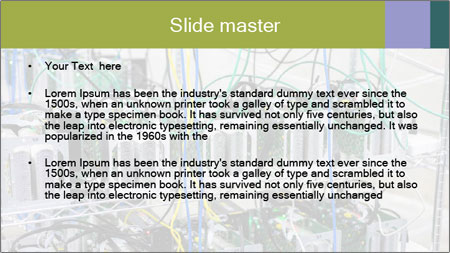 Technology System PowerPoint Template - Slide 2