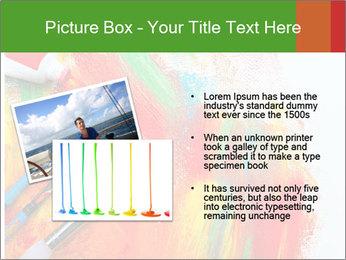 Abstract Art School PowerPoint Template - Slide 20