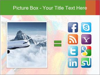Abstract Art School PowerPoint Template - Slide 21