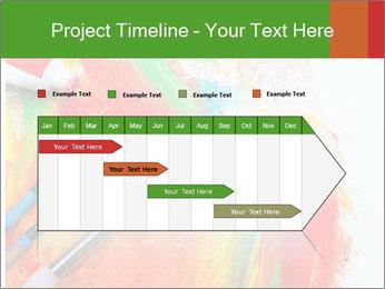 Abstract Art School PowerPoint Template - Slide 25
