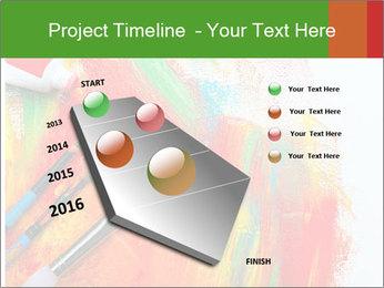 Abstract Art School PowerPoint Template - Slide 26