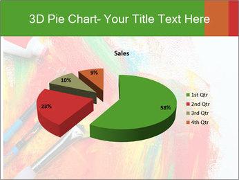 Abstract Art School PowerPoint Template - Slide 35