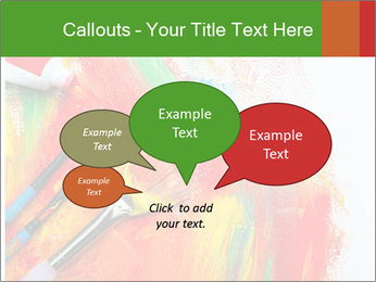 Abstract Art School PowerPoint Template - Slide 73