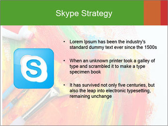 Abstract Art School PowerPoint Template - Slide 8