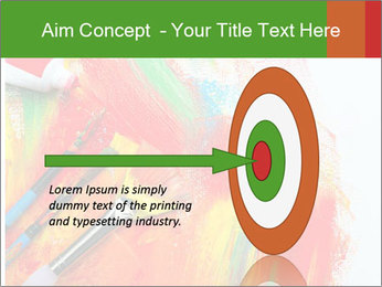 Abstract Art School PowerPoint Template - Slide 83