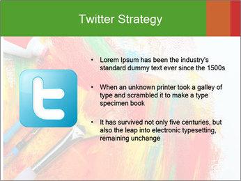 Abstract Art School PowerPoint Template - Slide 9