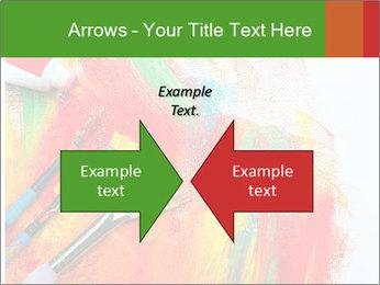 Abstract Art School PowerPoint Template - Slide 90