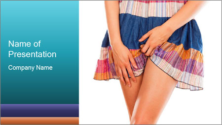Female Hygiene PowerPoint Template