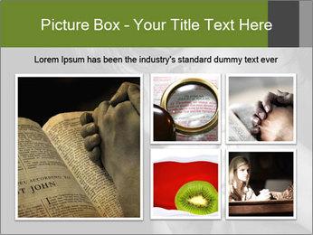 Praying Woman PowerPoint Template - Slide 19