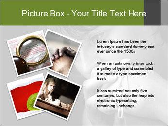 Praying Woman PowerPoint Template - Slide 23