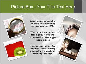 Praying Woman PowerPoint Template - Slide 24