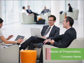 Business Interview PowerPoint Template - Slide 1