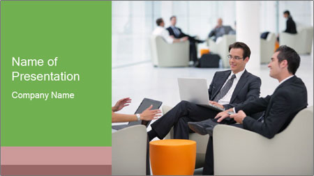 Business Interview PowerPoint Template