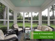 Livingroom Interior Design PowerPoint Template