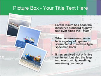 Shipping Business PowerPoint Template - Slide 17