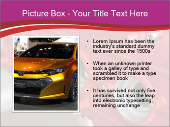 Red Automobile Part PowerPoint Template - Slide 13