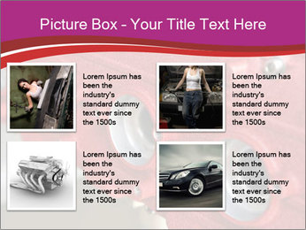 Red Automobile Part PowerPoint Template - Slide 14