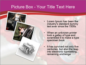 Red Automobile Part PowerPoint Template - Slide 17
