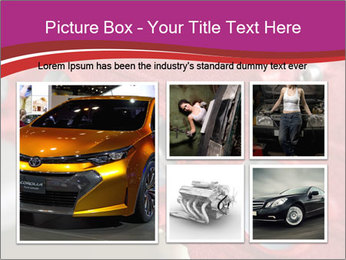 Red Automobile Part PowerPoint Template - Slide 19