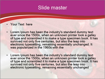 Red Automobile Part PowerPoint Template - Slide 2