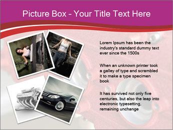 Red Automobile Part PowerPoint Template - Slide 23