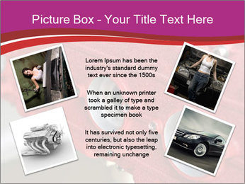 Red Automobile Part PowerPoint Template - Slide 24