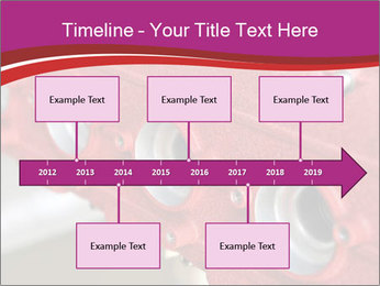 Red Automobile Part PowerPoint Template - Slide 28