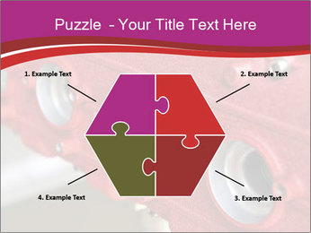 Red Automobile Part PowerPoint Template - Slide 40