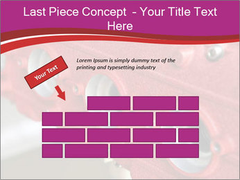 Red Automobile Part PowerPoint Template - Slide 46
